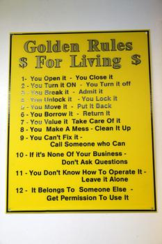$ The Golden Rules $