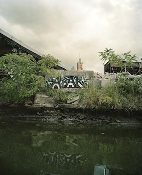 In Brooklyn, a project about the Gowanus opens in Brooklyn. Sayler/Morris has created a photographic series of the canal that is displayed on postcards, available on a first-come first-serve basis.