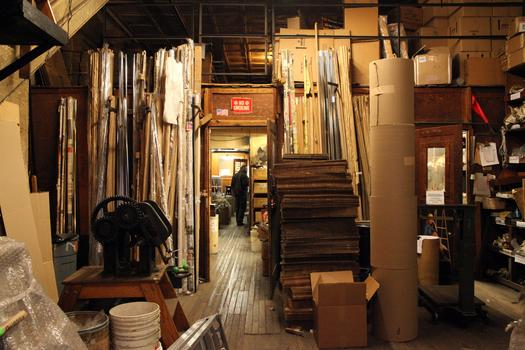 The ground floor of Putnam Rolling Ladder Co., Inc.