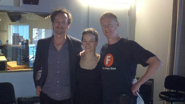 Hauschka, Hilary Hahn, & Host John Schaefer