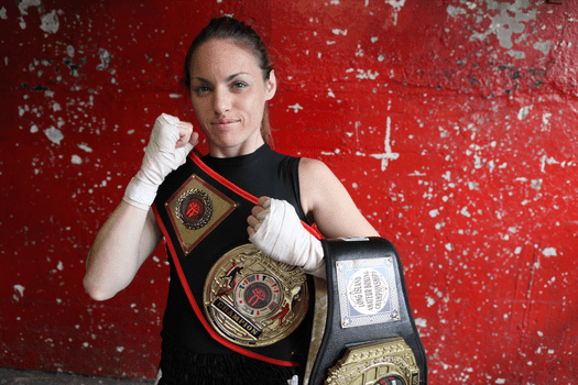 "Heather Hardy: ""I want to be a world champion."""