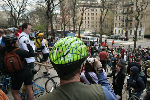 Bikers from across the boroughs