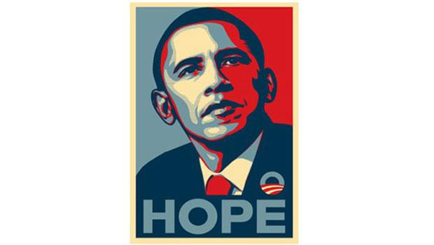 "This ""HOPE"" poster Fairey made for the Obama campaign in 2008 became the subject of a copyright infringement lawsuit."
