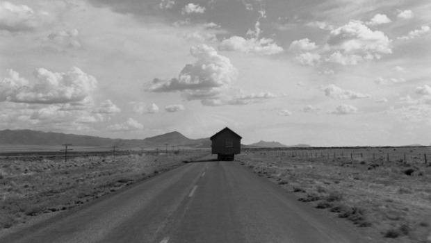 Another image by Lee Friedlander that Erik uses as inspiration. Lee's photography exemplifies the classic American roadtrip.