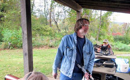 Rick Hubrich, a gunsmith