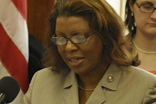 """The mayor should have included in his state of the city address one sentence, one sentence, to all New Yorkers: 'I'm sorry,'"" said Councilmember Letitia James, who chaired the hearing Friday."