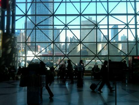 A view of midtown Manhattan from Javits.