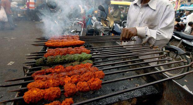 "Kabobs are ""a must"" for Eid meat-eaters."