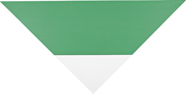"Elsworth Kelly's ""Green White"" from 1968 is expected to net up to $4 million."