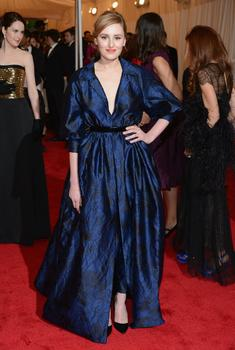 Laura Carmichael, who plays another Crawley sister in 'Downton Abbey,' was also at the gala.