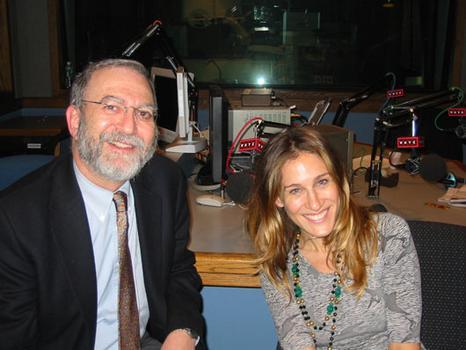 Sarah Jessica Parker and Leonard Lopate (2005)