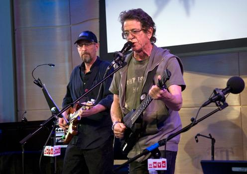 "Lou Reed plays ""Romeo Had Juliette"" live on Soundcheck in the Greene Space, April 29, 2013."