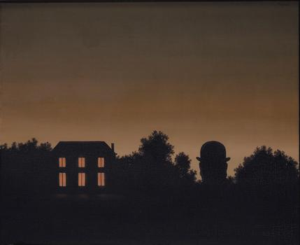 "Magritte's ""La fin du monde,"" which was painted in 1963, sold for over $7 million."