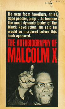 The first-edition Grove Press paperback of <em>The Autobiography of Malcolm X</em>