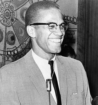 Malcolm X, March 1964.
