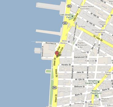 The new Whitney will sit on Gansevoort Street between West St. and the High Line.