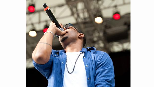 Mario performs at Central Park's SUmmerstage on August 21.