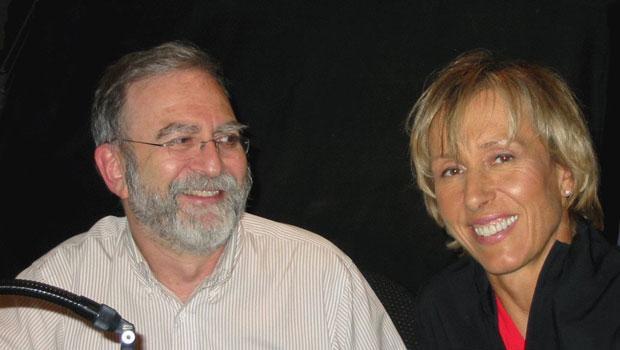 Martina Navratilova & Leonard Lopate (2006)