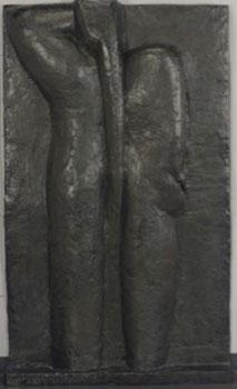 Henri Matisse's 1978 <em> Nu de Dos, 4 État</em>, bronze with dark brown patina, sold for nearly $49 million on Wednesday. Christie's thought it would get between $25 and $35 million.