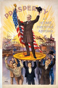 1896 McKinley Presidential Campaign Poster