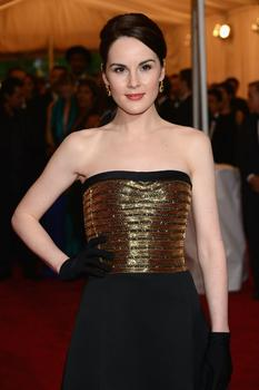 'Downton Abbey' actress Michelle Dockery also made an appearance.