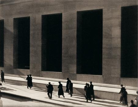 The Whitney Museum explores modern life in the first half of the 20th century. Paul Strand's 1915 image of Wall Street shows that the more things change, the more they stay the same.