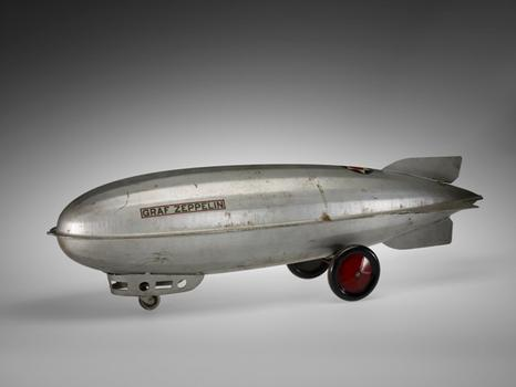 Graf Zeppelin toy dirigible. c. 1930.