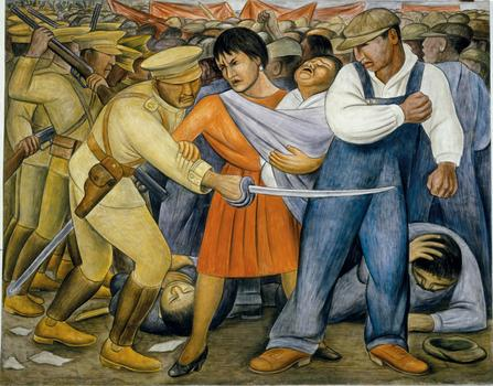 Diego Rivera. The Uprising. 1931.