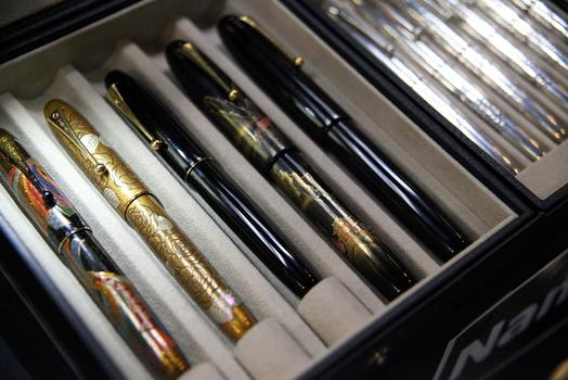 Namiki fountain pens.