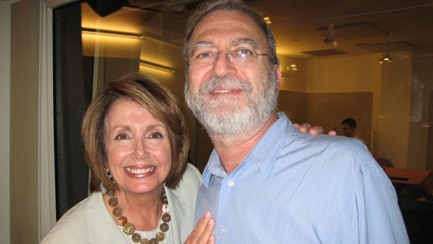 Nancy Pelosi and Leonard Lopate (2008)