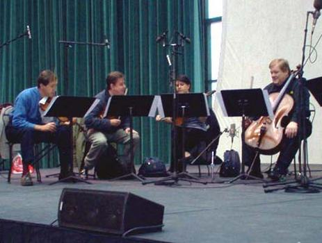 <strong>The Chilingirian String Quartet, 10/23/03.</strong>