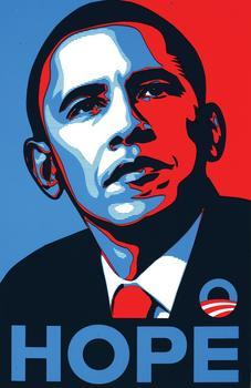 2008 Obama Election Poster