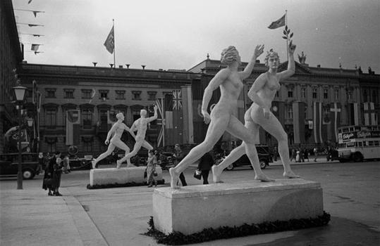 Olympics in Berlin 1936.