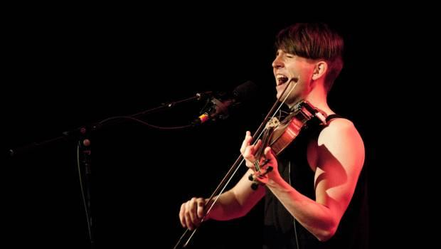 Owen Pallett performs at Webster Hall on April 22