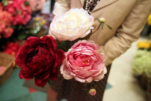 Peonies are the most popular choice for Mother's Day, said Rasamee.