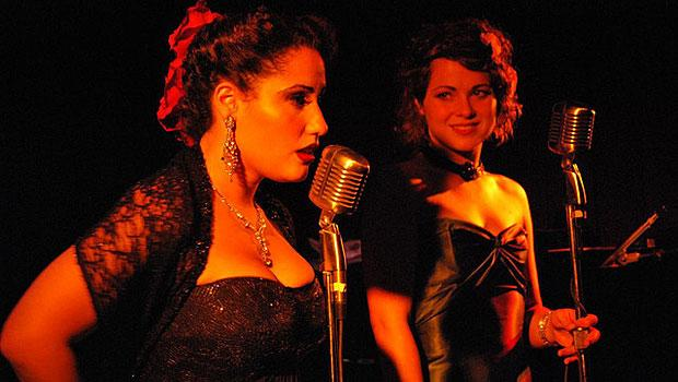 Different acts perform in the hotel bar, like Annie Darcy & Elsie Price of the Annie Darcy Band.