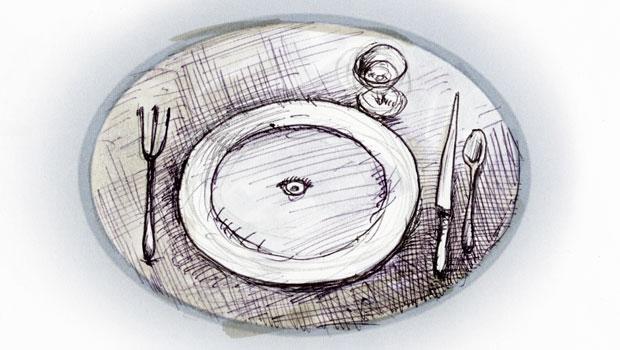 Design Sketch for Le Grand Macabre