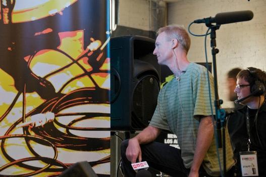 John Schaefer and engineer Chase Culpon