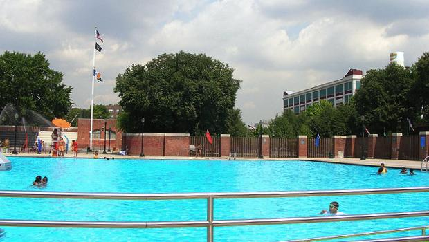 Red Hook Pool and its surrounding facilities offer visitors a chance to make the most of the long summer months.
