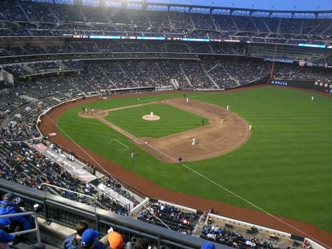 Great views at Citi Field