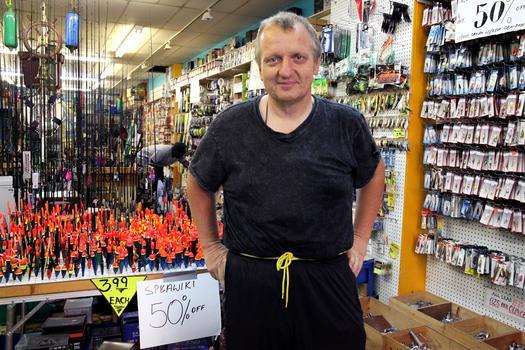 Dream Fishing Tackle owner Robert Piskorski