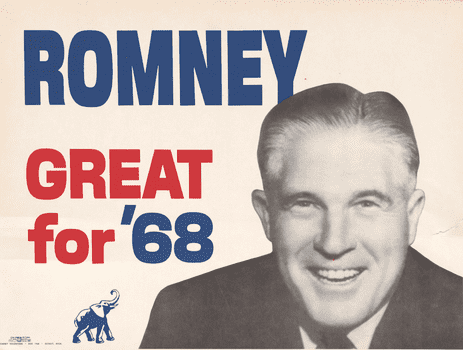 1968 George Romney Republican Nomination Poster