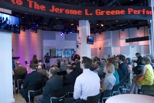 The Greene Space opens