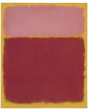 "Mark Rothko's oil on canvas ""Untitled No. 17"" will go for between $18 and $22 million at Christie's."