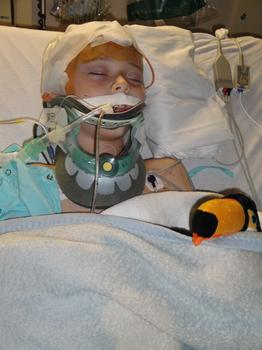 At age five, Samwise Leszczynski was hit by a car and put in the hospital with a traumatic brain injury.