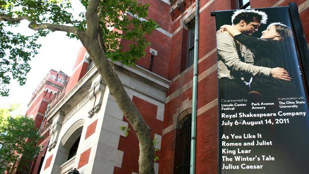 The Royal Shakespeare Company is performing inside the Park Avenue Armory in July and August.