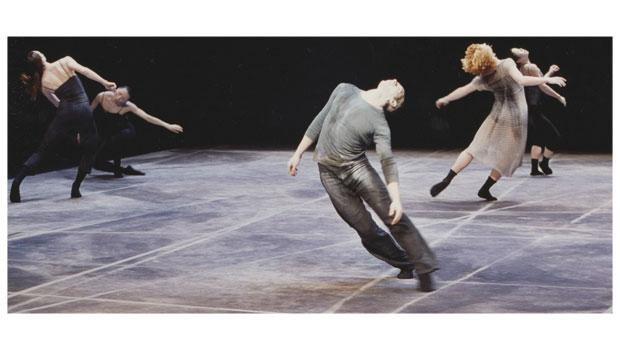 """Members of Shen Wei Dance Arts perform """"Rite of Spring,"""" which is set to the music of Igor Stravinsky."""