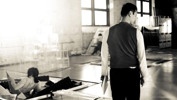 """Another rehearsal shot from """"Undivided Divided."""""""