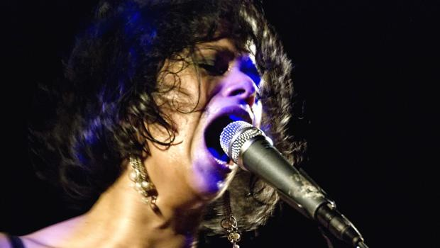 Shilpa Ray and her Happy Hookers performed at Le Poisson Rouge in Greenwich Village on March 10.