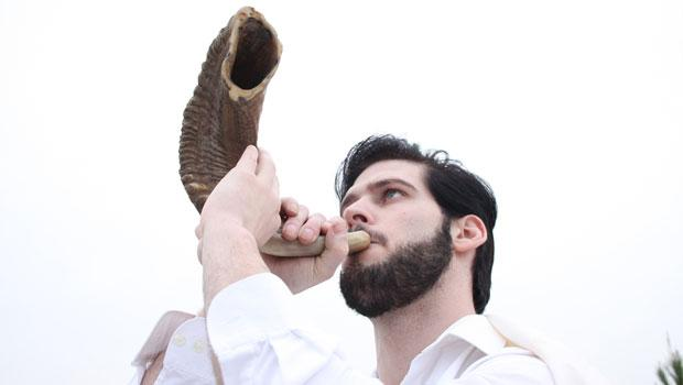 The shofar, an instrument most closely associated with Jewish festivals and religious texts.